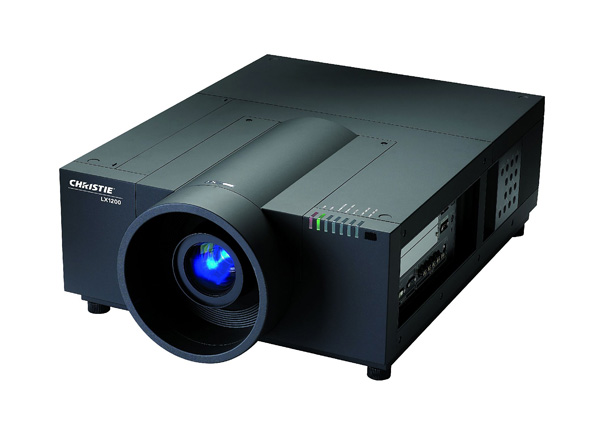 Storm projector hire Christie LX1200