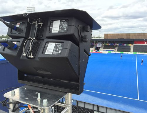 Audio and video support for the European Hockey Championships