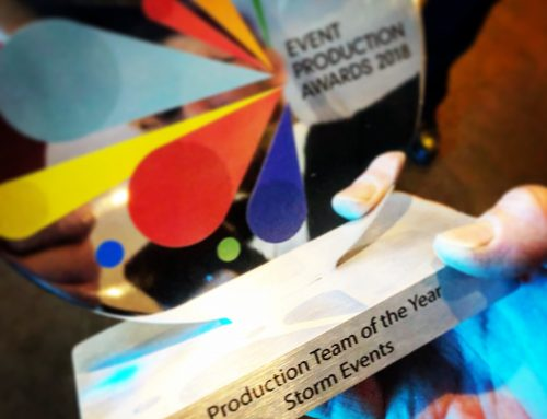 Storm Events WIN at Event Production Awards 2018 – Production Team of the Year